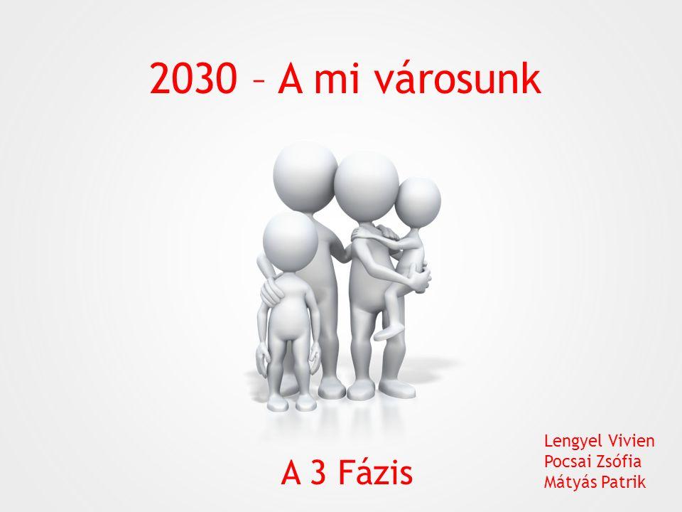 2030 – A mi városunk A 3 Fázis Lengyel Vivien Pocsai Zsófia Mátyás Patrik
