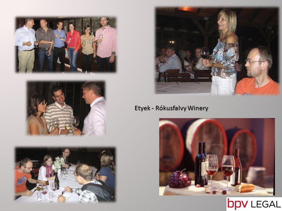 Etyek - Rókusfalvy Winery