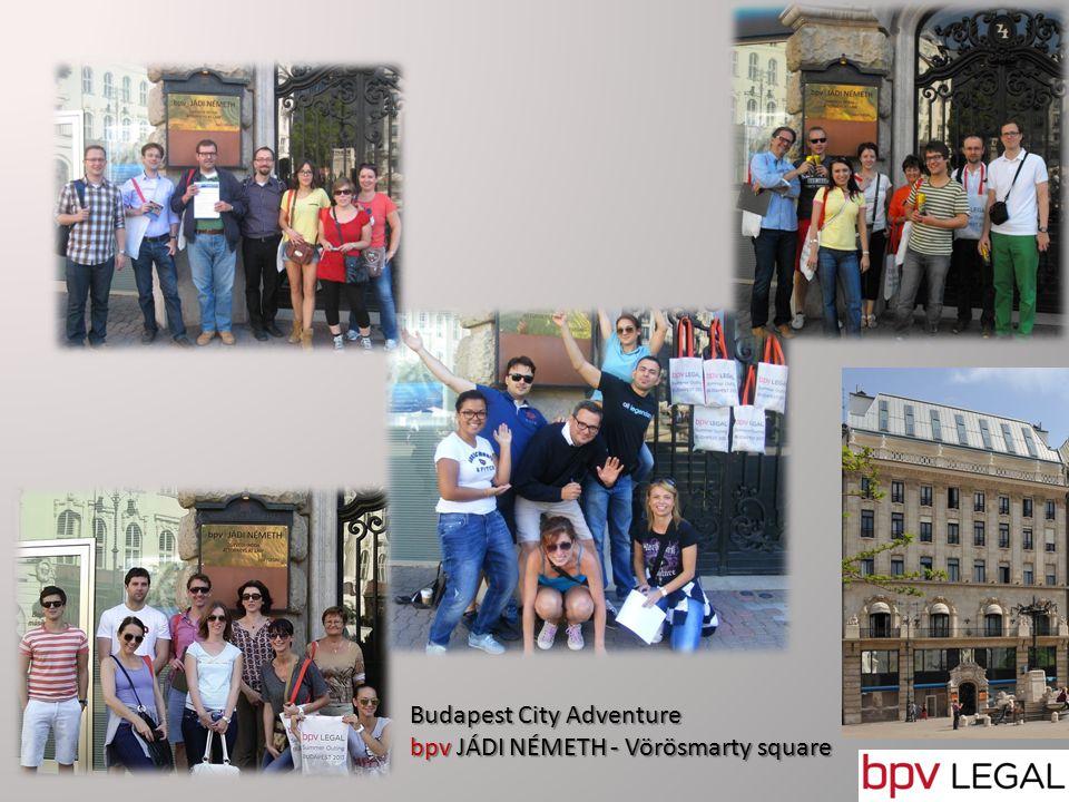 Budapest City Adventure bpv JÁDI NÉMETH - Vörösmarty square