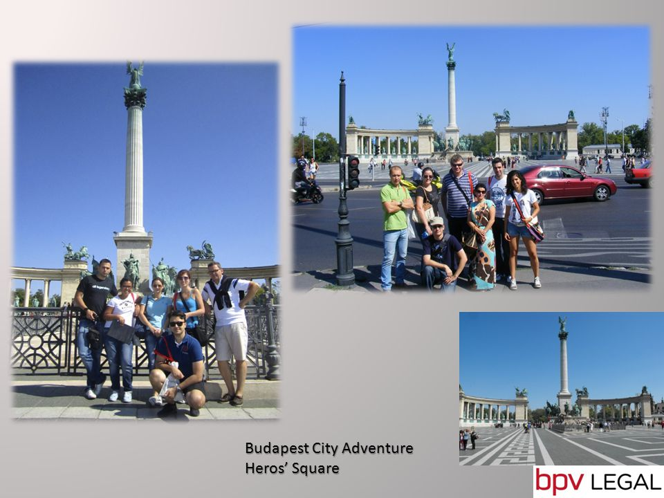 Budapest City Adventure Winning team announcement Trófea restaurant