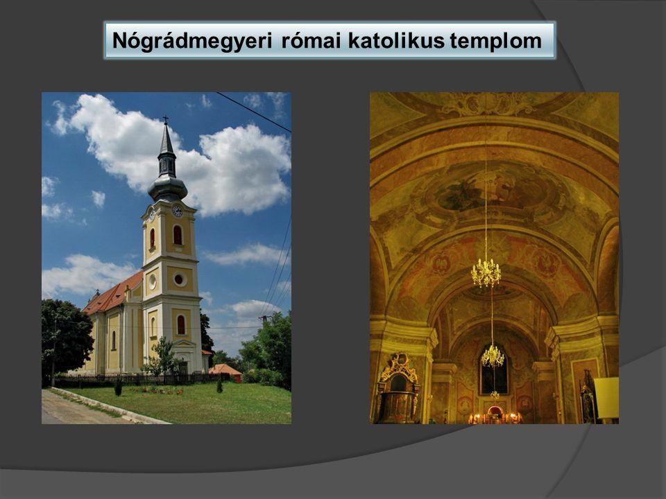 Nógrádmegyeri római katolikus templom
