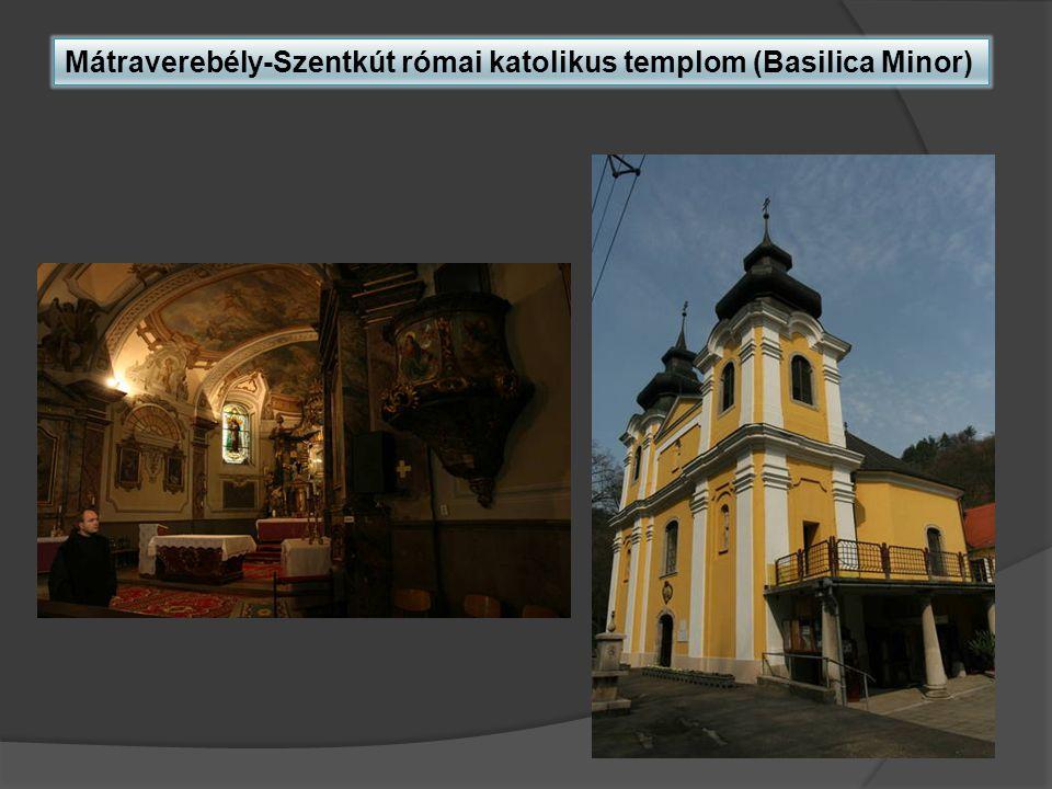 Mátraverebély-Szentkút római katolikus templom (Basilica Minor)