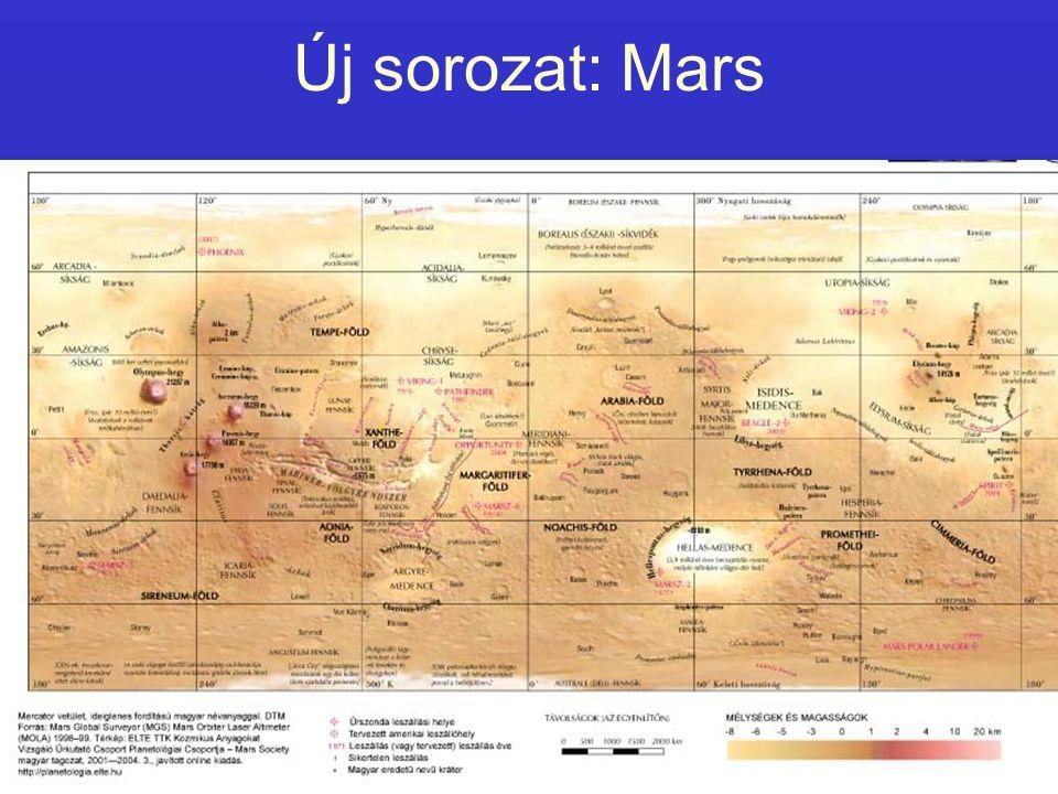 Új sorozat: Mars