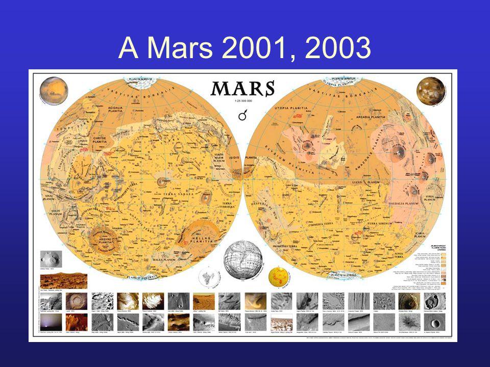 A Mars 2001, 2003