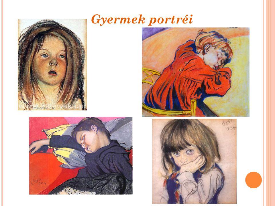 Gyermek portréi