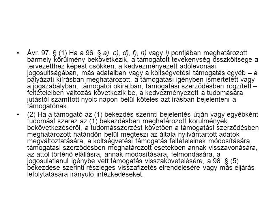 Ávr.97. § (1) Ha a 96.
