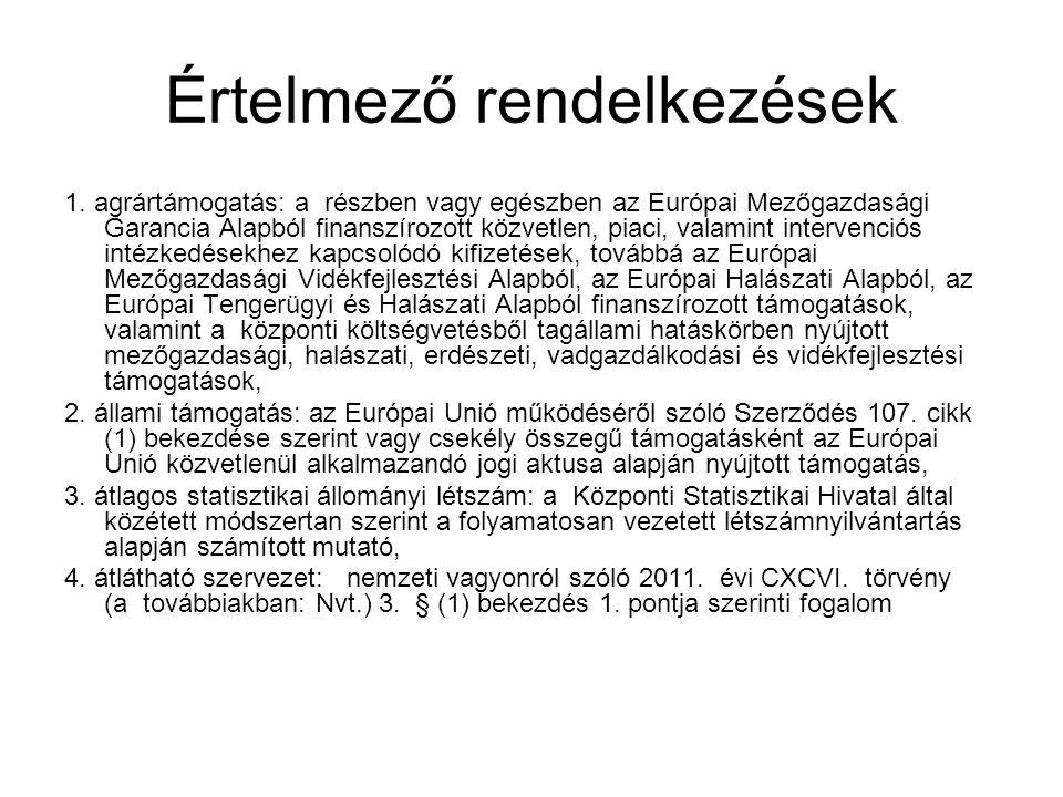 Támogatási szerződés módosítása [Az Áht.53/A. §-ához] Ávr.