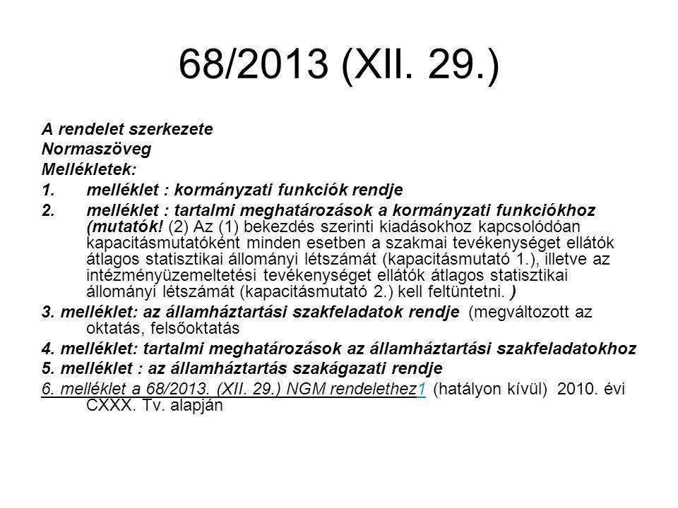 68/2013 (XII.