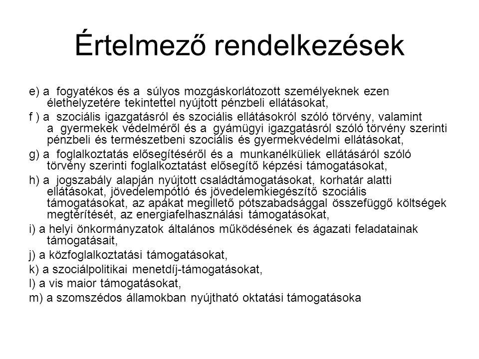 Személyi juttatások, illetményszámfejtés Ávr.1/A.