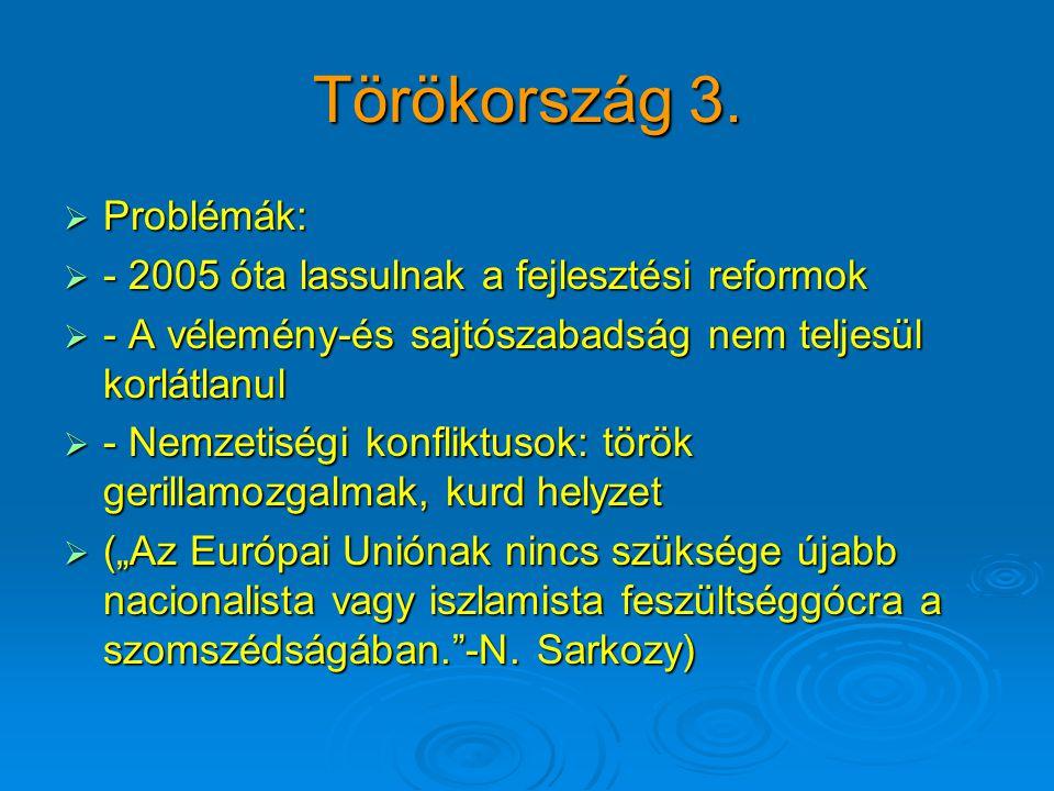 Törökország 3.