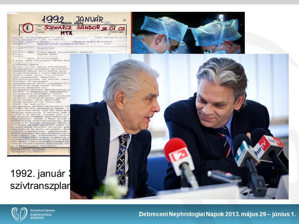 Debreceni Nephrologiai Napok 2013.május 29 – június 1.