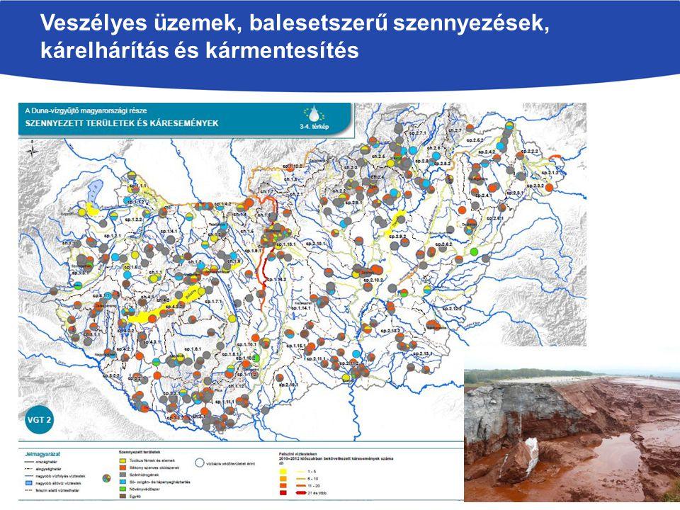 Veszélyes üzemek, balesetszerű szennyezések, kárelhárítás és kármentesítés