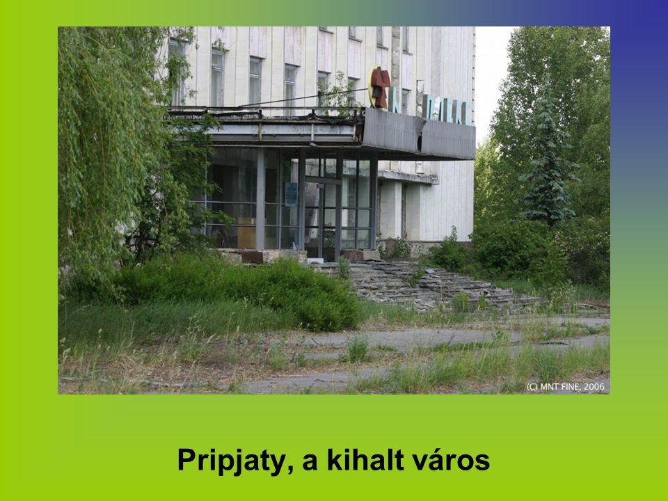 Pripjaty, a kihalt város