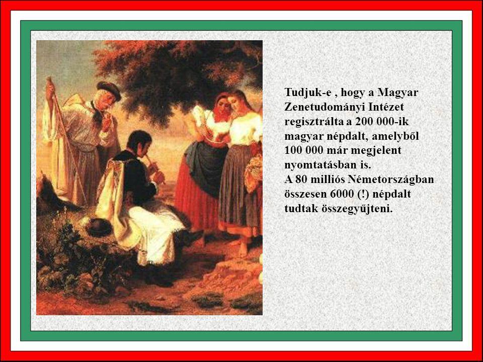 Tudjuk-e, hogy az Ómagyar Mária-siralom szövegét mi még a mai napig értjük, hiszen szókincsét, mind a mai napig használjuk? Shakespeare drámáit, a műv