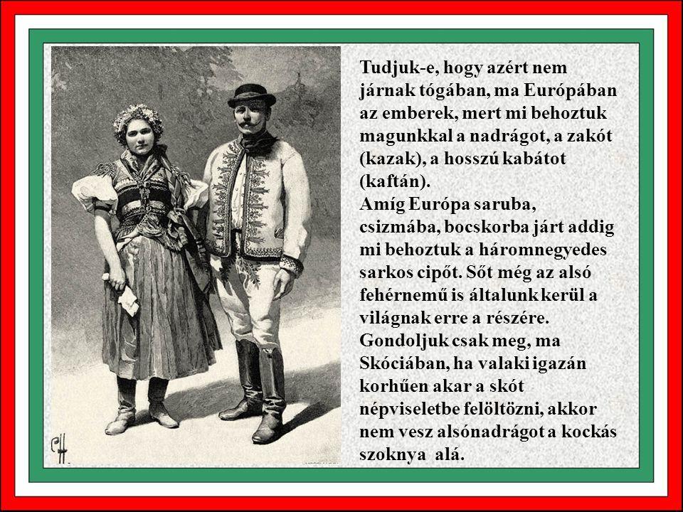Tudjuk-e, hogy Európa nem ismerte a magyarok bejövetele előtt a hús megfőzésének módját? Nem ismerték a villát és a kanalat. Kézzel és késsel ették a