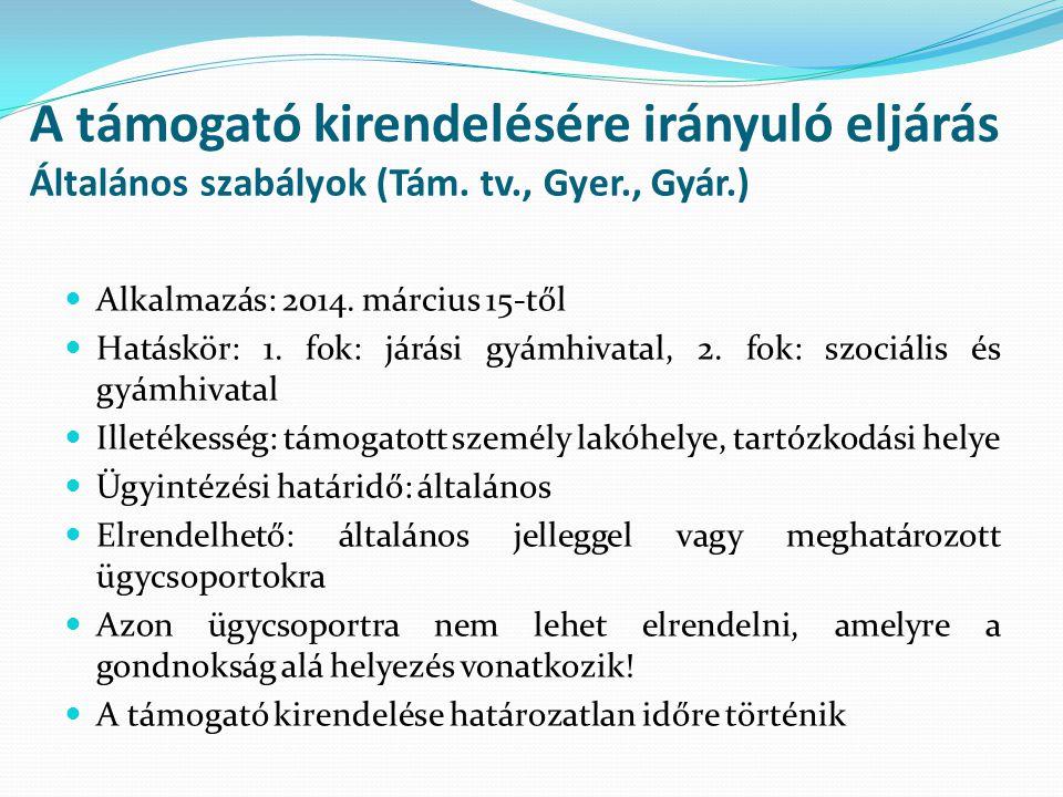 A hivatásos támogató (Tám.tv., Gyer.) II.