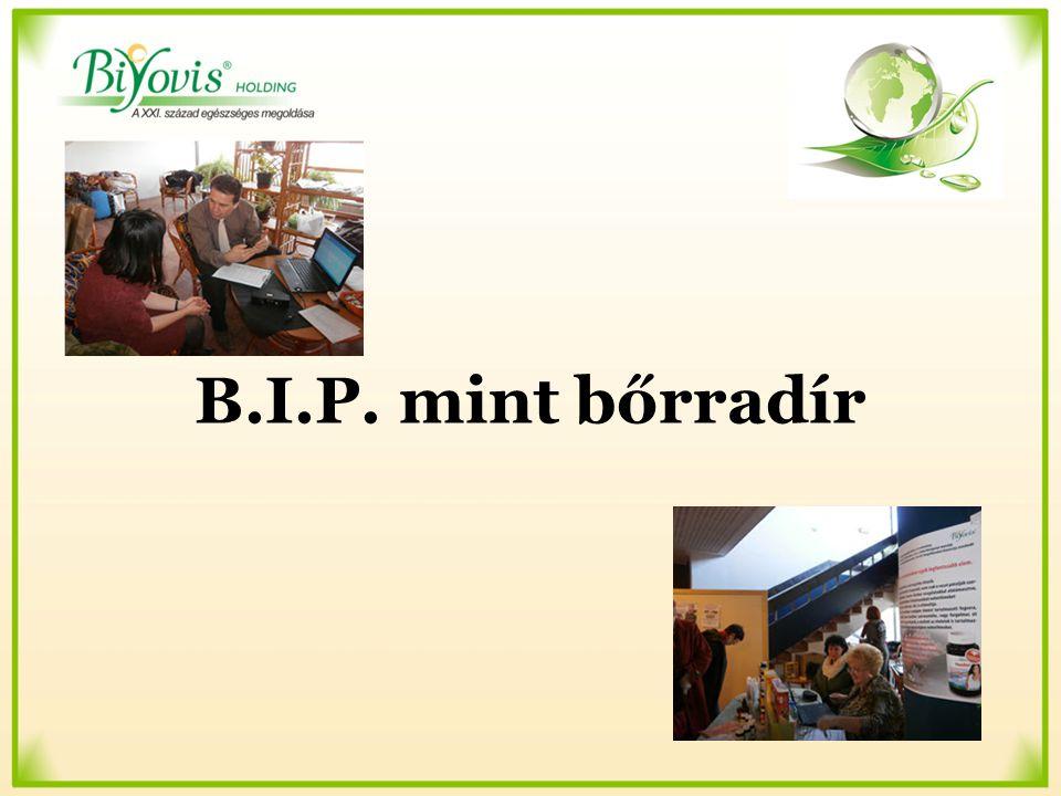 B.I.P. mint bőrradír