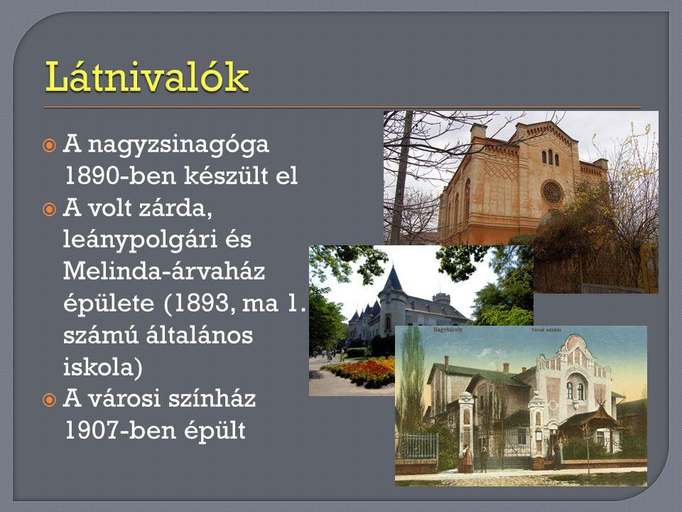 Károlyi-kastély  A mai kastély el ő djét 1482-ben Károlyi Láncz László kezdte el építeni, amikor Mátyás királytól engedélyt kaptak egy k ő ház építésére.