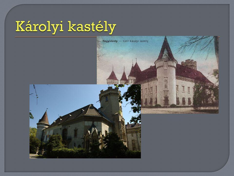  A Károlyi György gróf megbízásából, Ybl Miklós, a grófi család építészének tervei alapján 1838-ban épült fogadóban ismerkedett meg 1846.