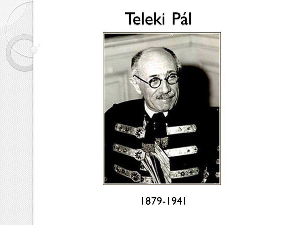 Teleki Pál 1879-1941