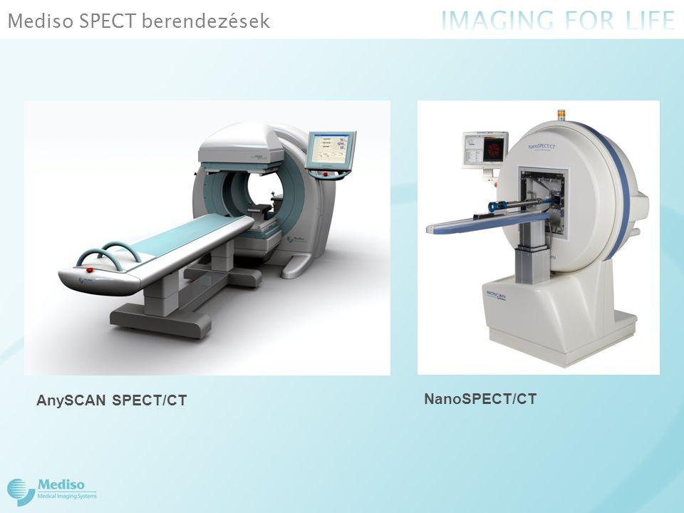 Mediso SPECT berendezések AnySCAN SPECT/CT NanoSPECT/CT