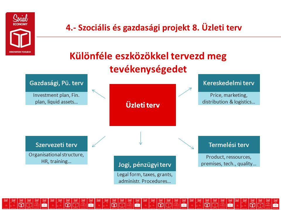4.- Szociális és gazdasági projekt 8.
