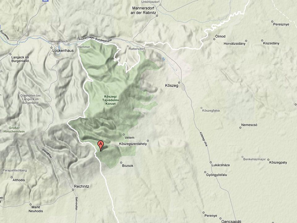 Zöldpala előfordulások a Kőszegi-hegységben