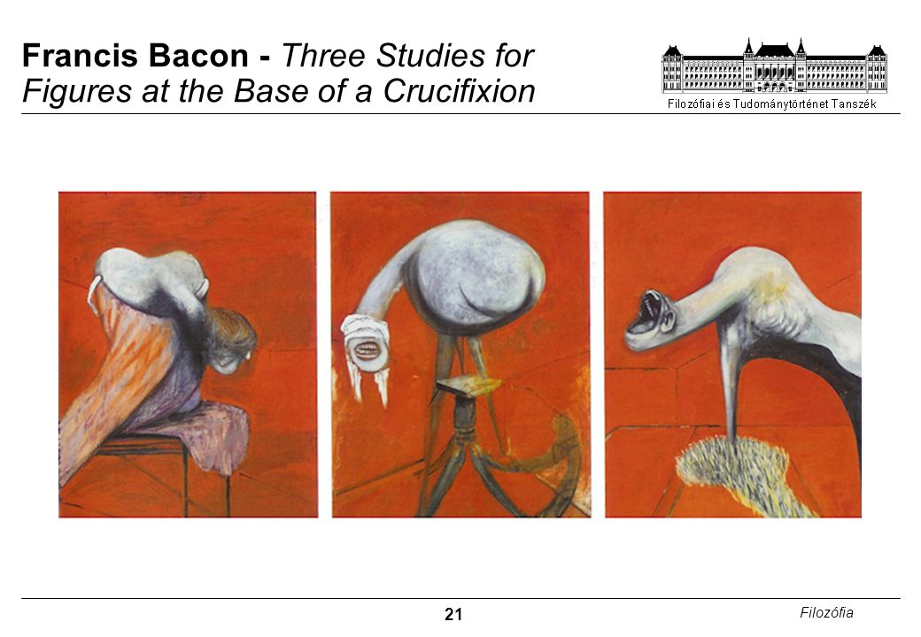 21 Filozófia Francis Bacon - Three Studies for Figures at the Base of a Crucifixion