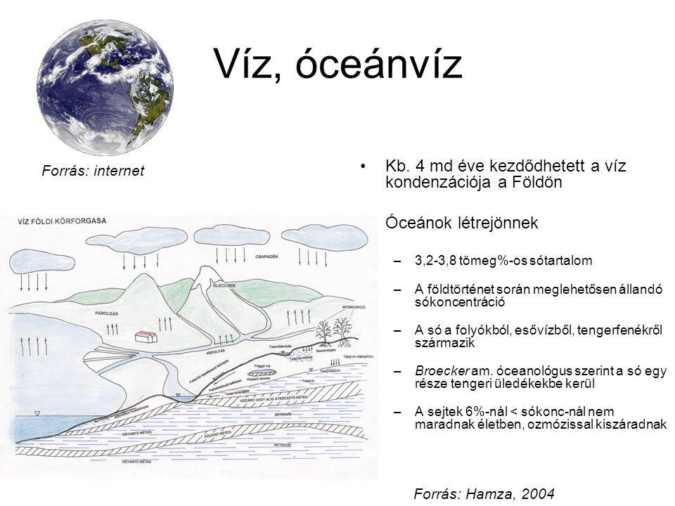 Víz, óceánvíz Kb.