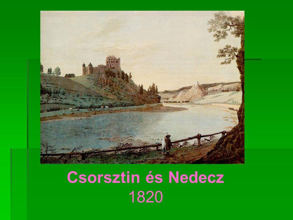 Csorsztin és Nedecz 1820