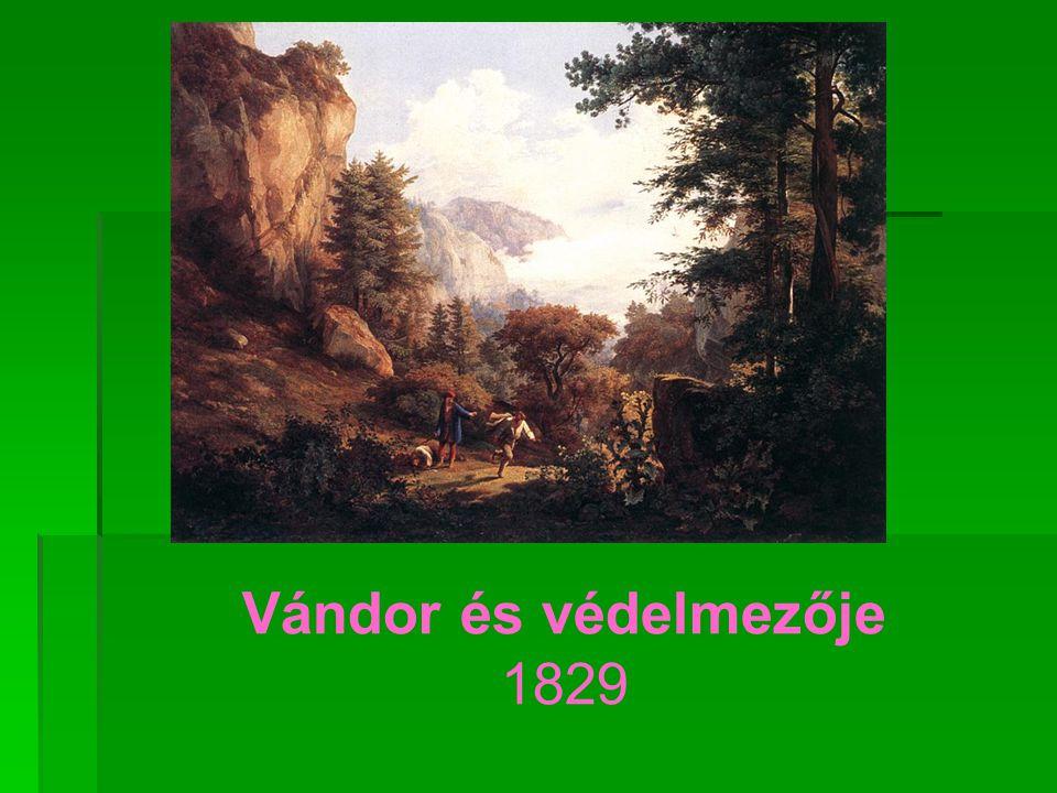 Vándor és védelmezője 1829
