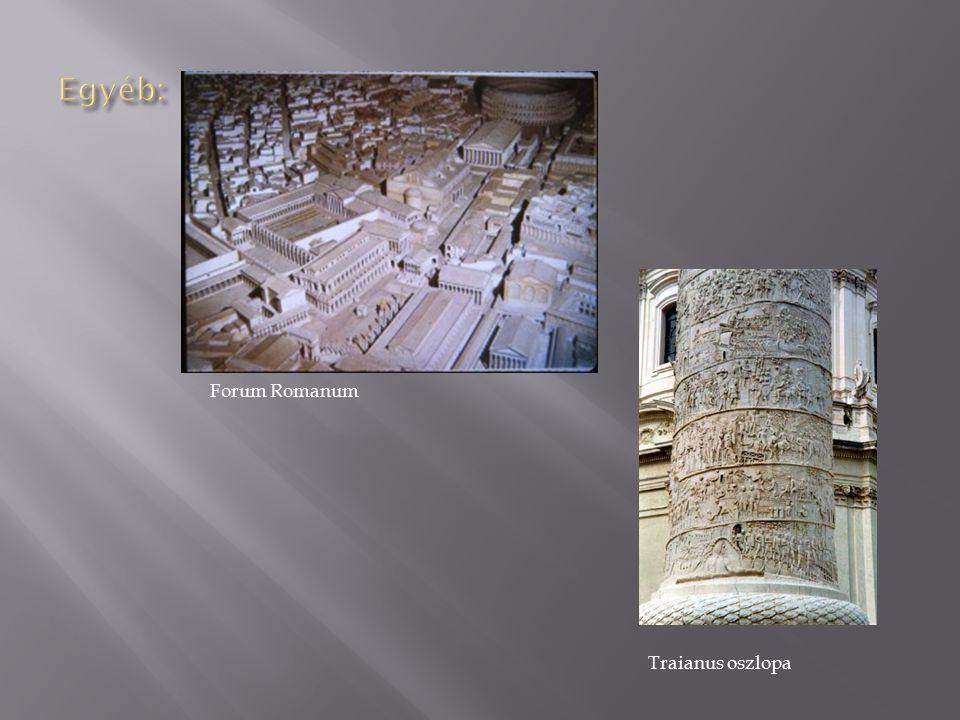 Forum Romanum Traianus oszlopa