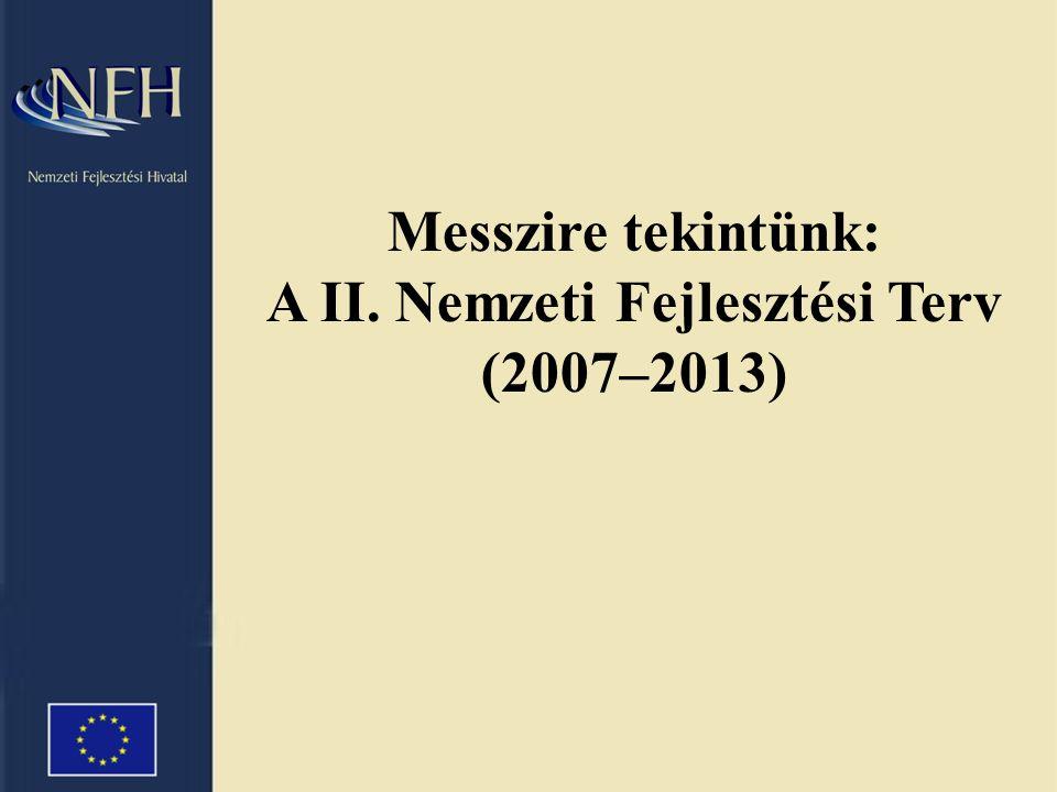 Messzire tekintünk: A II. Nemzeti Fejlesztési Terv (2007–2013)