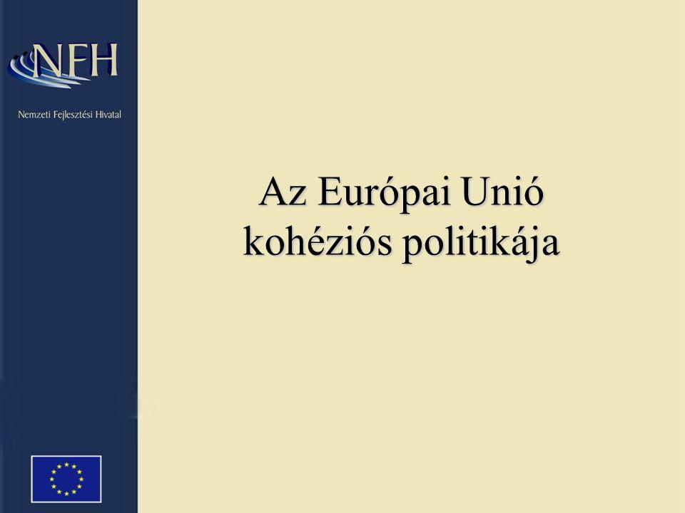 Az Európai Unió kohéziós politikája