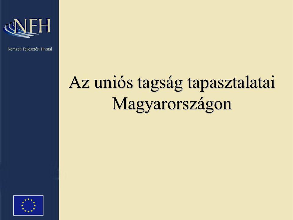 Az uniós tagság tapasztalatai Magyarországon
