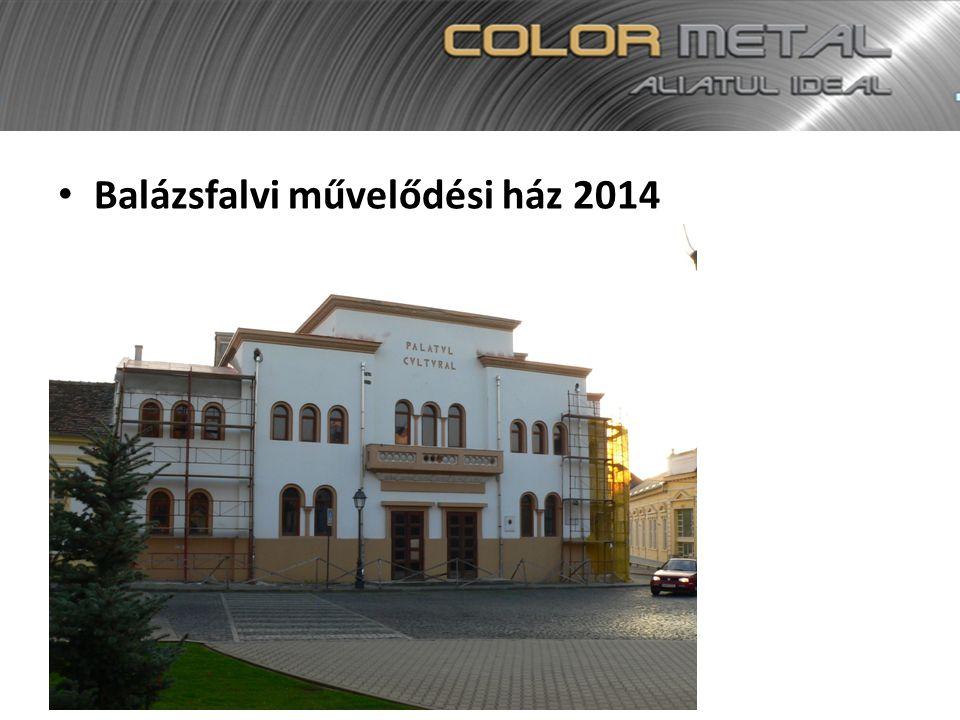 Balázsfalvi művelődési ház 2014
