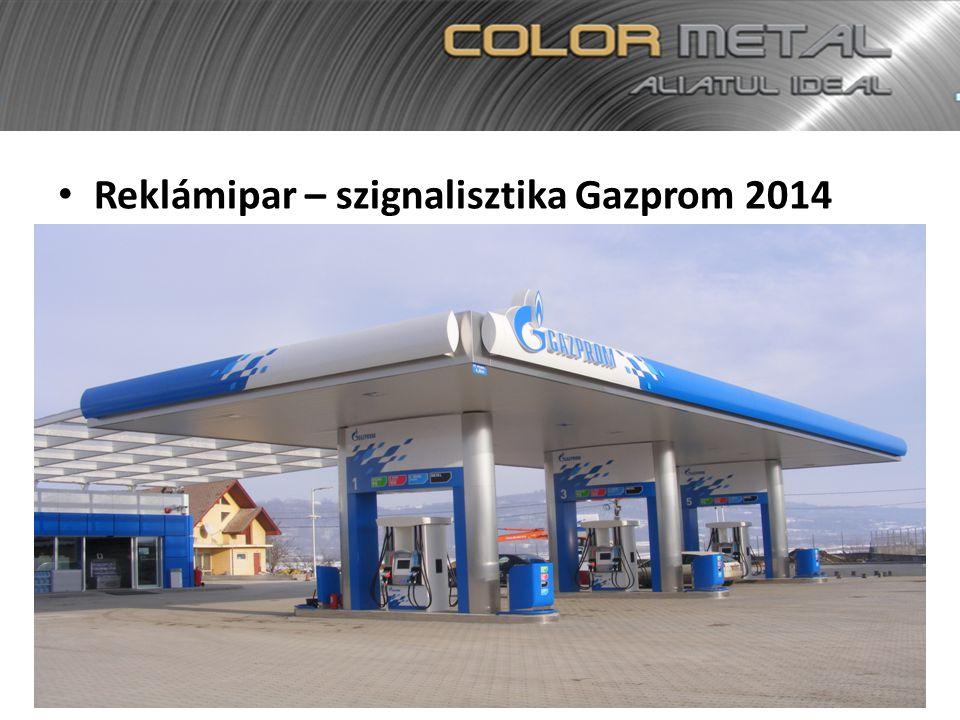 Reklámipar – szignalisztika Gazprom 2014