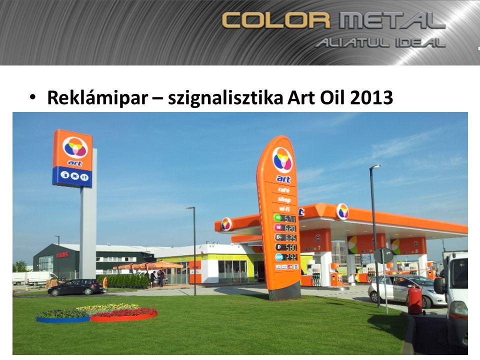 Reklámipar – szignalisztika Art Oil 2013
