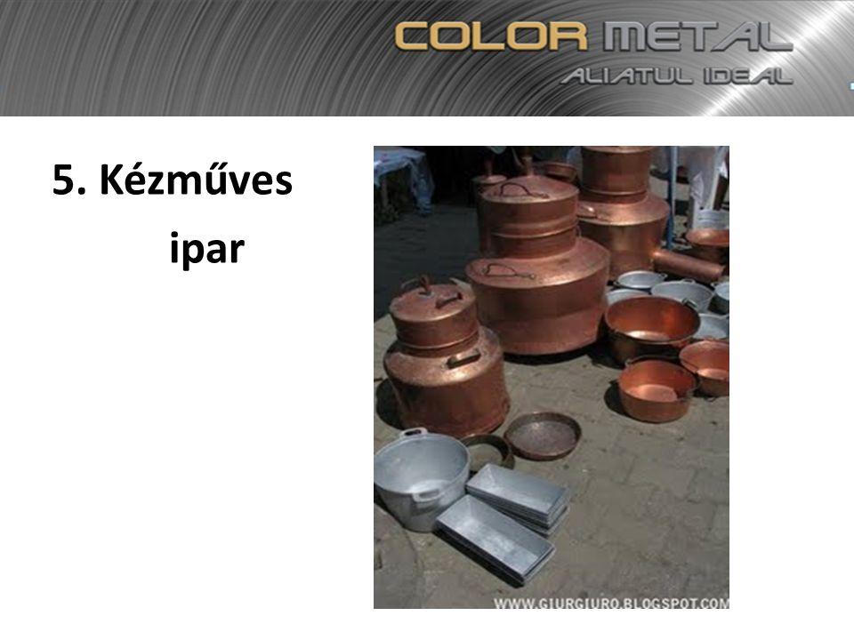 5. Kézműves ipar