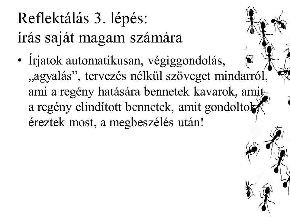 Reflektálás 3.