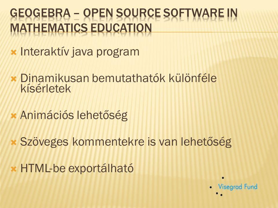 A Szlovák GeoGebra Intézet a helyi GeoGebra Intézetek hálózatának tagja.