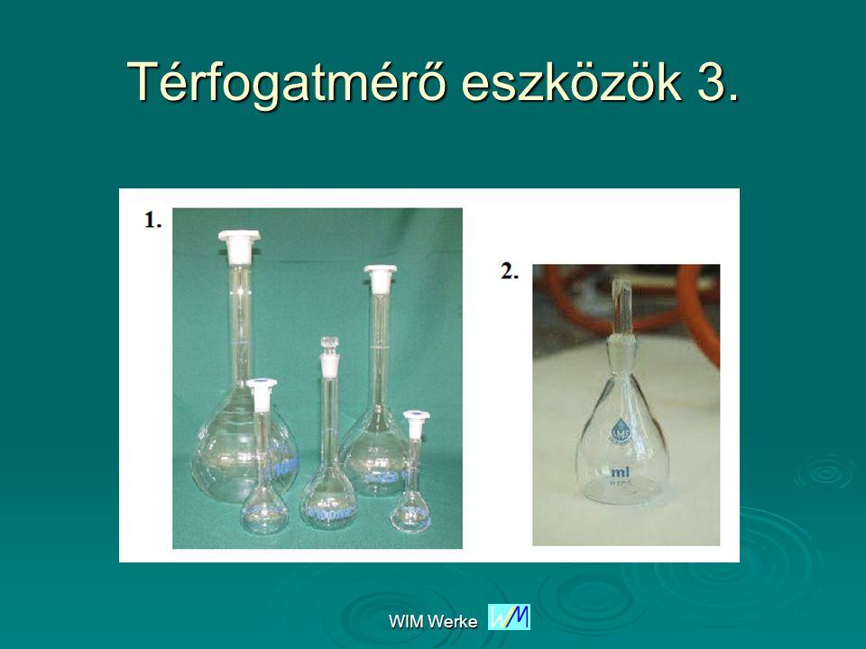 WIM Werke Térfogatmérő eszközök 4.