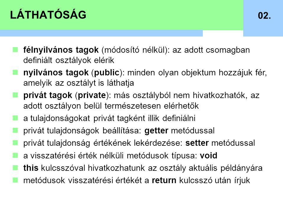 LÁTHATÓSÁG 02.