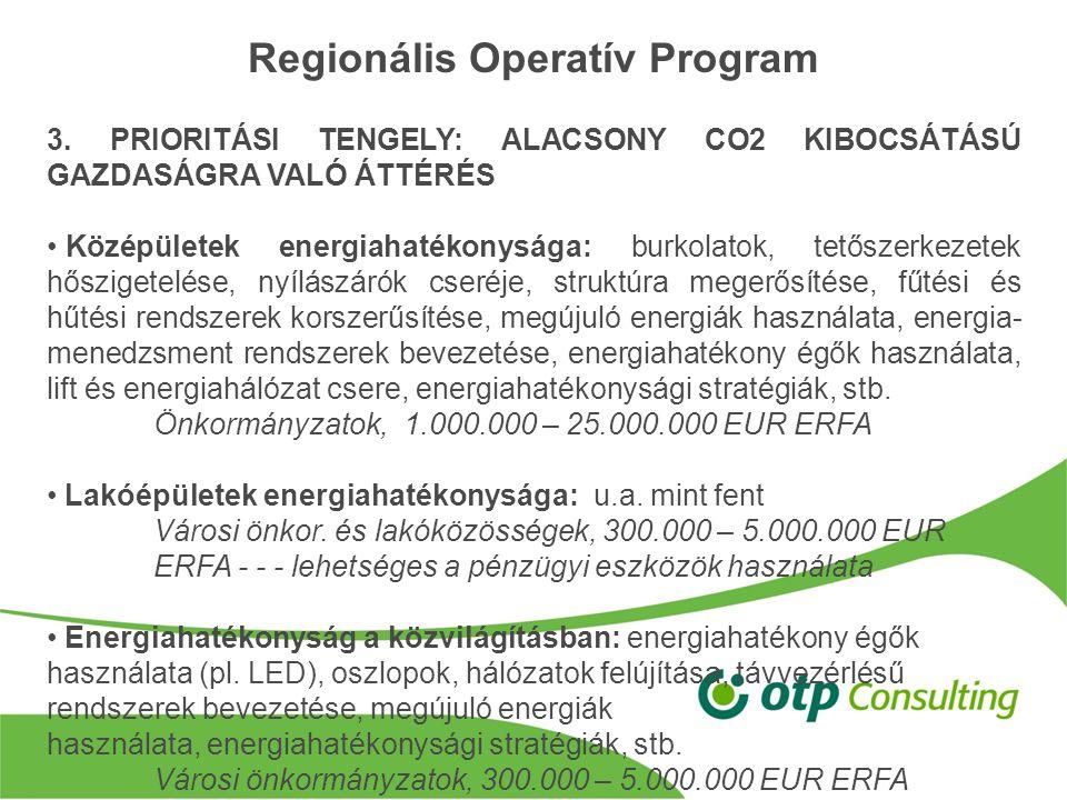 Regionális Operatív Program 3.