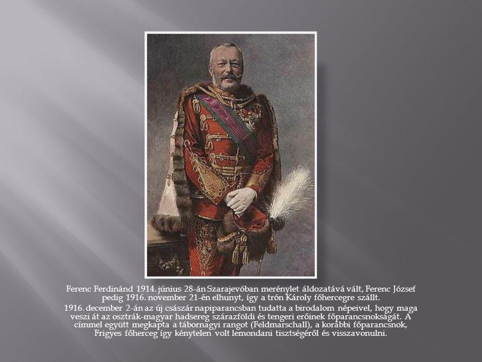 Ferenc Ferdinánd 1914.