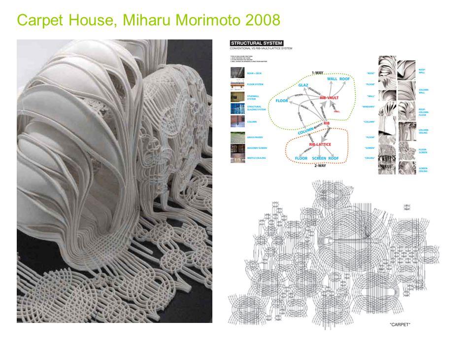 Carpet House, Miharu Morimoto 2008