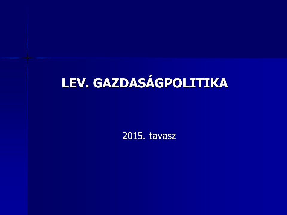 A MAGYAR GAZDASÁGPOLITIKA 1945-1989 KÖZÖTT I.1946.