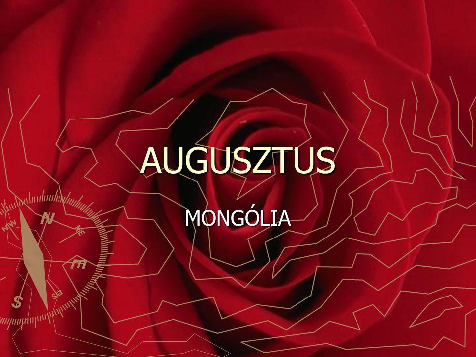 AUGUSZTUS MONGÓLIA