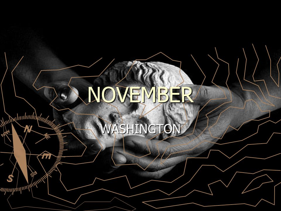 NOVEMBER WASHINGTON