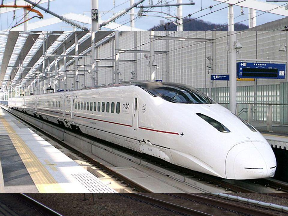 Sinkanszen Egy nagysebességű vasúthálózat Japánban.